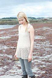 Ravelry: Shoals Tank pattern by Carrie Bostick Hoge 4 ply $6