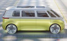 Volkswagen Microbus Concept Unveiled at Detroit Auto Show