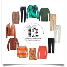 12 Piece Fall Capsule Wardrobe by A Bigger Closet