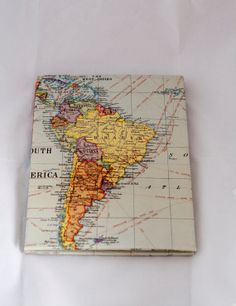 travel inspired accordion book by LuciaGphotoandesigns on Etsy, $15.00