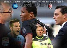 #seriea Serie A: Napoli Milan: Sarri: mettiamo in campo la rabbia per il primo tempo di Pescara #serie a