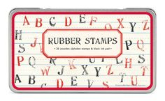 Stamp set cavallini stamp set quality by MelsEclecticsupplies, $25.00