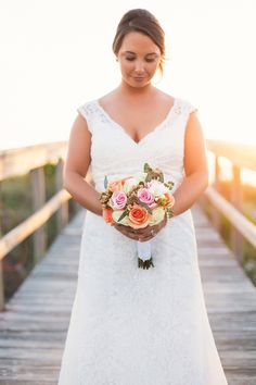 Photography: K And K Photography - kandkphotography.com  Read More: http://www.stylemepretty.com/2014/07/31/coral-boca-grande-wedding/