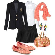 Ideas to dress up a school uniform