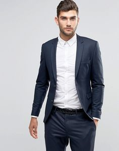 smart + simple // menswear, mens style, fashion, suit, navy, winter, holiday, modern, slim, haircut, hair, style, cut, #sponsored
