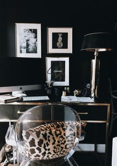 A candid tour of my home.- A candid tour of my home. A candid tour of my home. — The Decorista - Home Office Design, Home Office Decor, Home Interior Design, House Design, Office Designs, Modern Office Decor, Casa Rock, Style At Home, Home And Deco