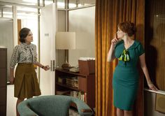 Mad Men Season 5 Peggy and Joan