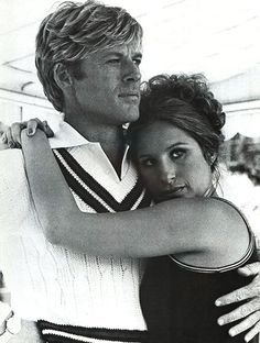 Robert Redford and Barbara Streisand.  The way we were....