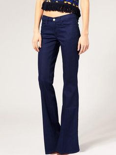 What To Look For: When you're tall, you can definitely rock long and lean straight-legged styles—or go retro and try flared, '70s-inspired denim.    MiH Jeans New York 5 Pocket Flare Jeans, $214.19, us.asos.com