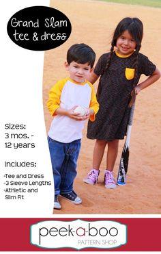 (http://www.peekaboopatternshop.com/grand-slam-tee-and-dress/)