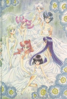 100% Manga - Sailor Moon Manga Art Books Image Collection