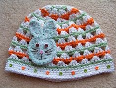 Little Bunny Fufu Hat -- no instructions; maybe I can figure this out