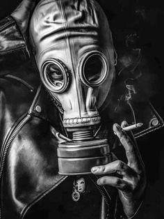 Gas Mask Drawing, Gas Mask Art, Masks Art, Apocalypse Tattoo, War Tattoo, Plague Mask, Creepy Drawings, Creepy Vintage, Creepy Photos