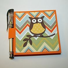 Owl Post-It Note Holder
