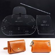 Mini Lady Clutch Handbag Leather Template Acrylic Pattern Craft Tool 966