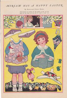 MIRIAM HAS A HAPPY EASTER by Berta and Elmer Hader in Good Housekeeping  Apr 1924