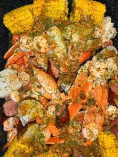 Add this spicy sauce to your favorite seafood boil, and use some on the side to dip the yumminess in! Cajun Seafood Boil, Seafood Boil Party, Seafood Boil Recipes, Crab Boil, Seafood Dinner, Fish Recipes, Frozen Seafood, Recipies, Seafood Appetizers