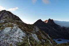 Cloud floating over the peaks of Cradle Mountain in NW Tasmania. Image sent in by Jack Sutton on IG: https://instagram.com/p/BJpYAhOg3iC/