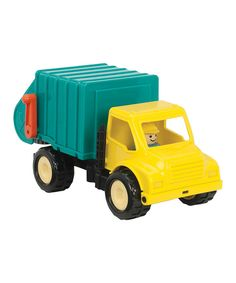 My favorite first Garbage Truck Set is on #zulily today. Great toy for little hands and only $13.99!