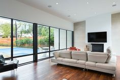 Saxon St. - Contemporary - Family Room - Houston - Cason Graye Homes
