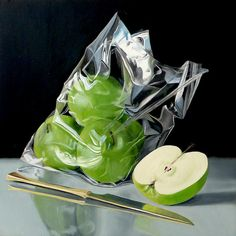 A collection of sold works by Vancouver hyperrealism-inspired still life artist Lorn Curry. Oil Paint On Wood, 3d Art Drawing, Still Life Artists, Hyper Realistic Paintings, Still Life Images, Still Life Oil Painting, Gcse Art, High Art, Fruit Art