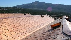 Copper Roof Construction