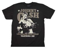 Johnny Cash San Quentin Stars T-Shirt