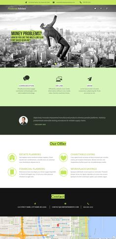 Fully editable professional business webiste template #website #design #webdesign #business #createer