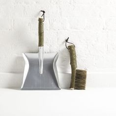 5 Favorites: Display-Worthy, Artisan-Made Dustpan and Brush Sets - Remodelista