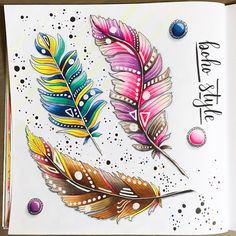 8/100 бохо пёрышки :) #art #creative #instaart #artist #illustration #markers #topcreator #art_we_inspire #drawing #sketch #sketchbook #vscodraw #иллюстрация #маркеры #скетч #скетчбук #рисунок #рисую #copicmarkers #copicart #copic #sketching #boho #bohemia