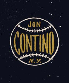 Jon Contino #typography #logo