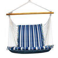 Algoma Hammocks 1500-135142 Swing Chair with Hardwood Spreader Bar