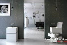 'Form and Function' PRODUCT DESIGN FROM POLAND ISH 2015 | EXSPACE/ MyBath Levels washbasin  design: Grupa projektowa SIT manufacturer: MyBath www.mybath.pl