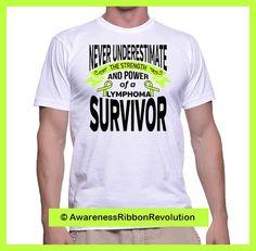 Strength of a Lymphoma Survivor Men Unisex Shirt #nonhodgkinslymphoma