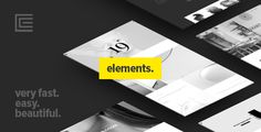 Elements - Creative Multi-Purpose WordPress Theme  -  http://themekeeper.com/item/wordpress/elements-wordpress-theme