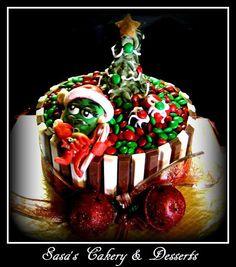 Kit Kat M & M Cake