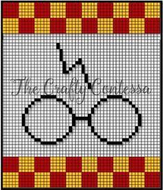 Crochet Afghans 471259548510193170 - crochet pattern – Harry Potter Source by Tricot Harry Potter, Harry Potter Crochet, Harry Potter Quilt, Pixel Crochet, Crochet Chart, Crochet Patterns, Crochet Stitch, Blanket Patterns, Embroidery Patterns