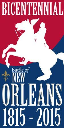 Bicentennial of Battle of New Orleans (USA) Battle Of New Orleans, J Collection, New Orleans Hotels, Anniversary Logo, War Of 1812, Lsu, Louisiana, Adventure, History