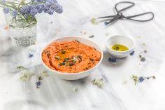 La recette de houmous de poivrons