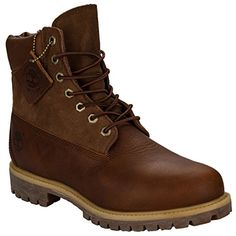Timberland Men's Inch Premium Boots US9.5 Brown - http://buyonlinemakeup.com/timberland/8-d-m-us-timberland-mens-10001-6-premium-boot-dark-13