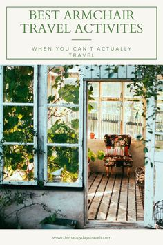 Here are 17 Armchair Travel Ideas for when you can't travel. These armchair travel activities will help you stay at home but take you places like travelling normally. Discover the armchair travel meaning, the ideas for bringing travel to your home and how to inspire wanderlust and learn about travel without leaving your house. From travel books to virtual travel and online cooking.  Repin to Your Travel Activities Boards.   #TravelFromHome #ArmchairTravel #ArmchairTravelling… Blog Renata, Superfoods, Praticien Reiki, Ways To Save Money, How To Make Money, House Down Payment, Good Quotes, Inspirational Quotes, Life Quotes