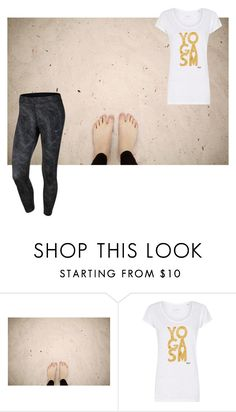 """""""sand between the toes doing yoga is good for the soul"""" by sportslover102 ❤ liked on Polyvore featuring NIKE"""