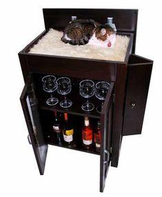 Small Liquor Cabinet Home Furniture Design