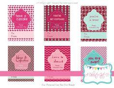 milleideeperunafesta: San Valentino: biglietti da stampare