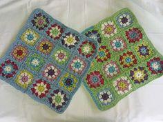 Crochet - Cushions for the little beach house.