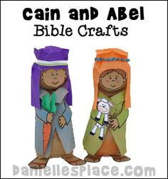 Cain and Abel Crafts for Sunday School from www.daniellesplace.com