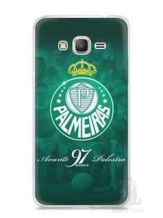 Capa Samsung Gran Prime Time Palmeiras #5 - SmartCases - Acessórios para celulares e tablets :)