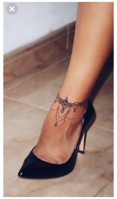Cute Ankle Tattoos, Ankle Tattoo For Girl, Ankle Tattoo Small, Tiny Tattoo, Armband Tattoos, Sleeve Tattoos, Neck Tattoos, Henna Tattoos, Flower Tattoos