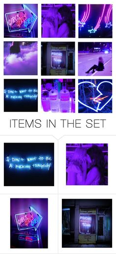 """""""vegas lights"""" by causingpanicatthetheater ❤ liked on Polyvore featuring art and vintage"""