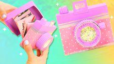 Cómo hacer una tarjeta cámara acordeón para regalo